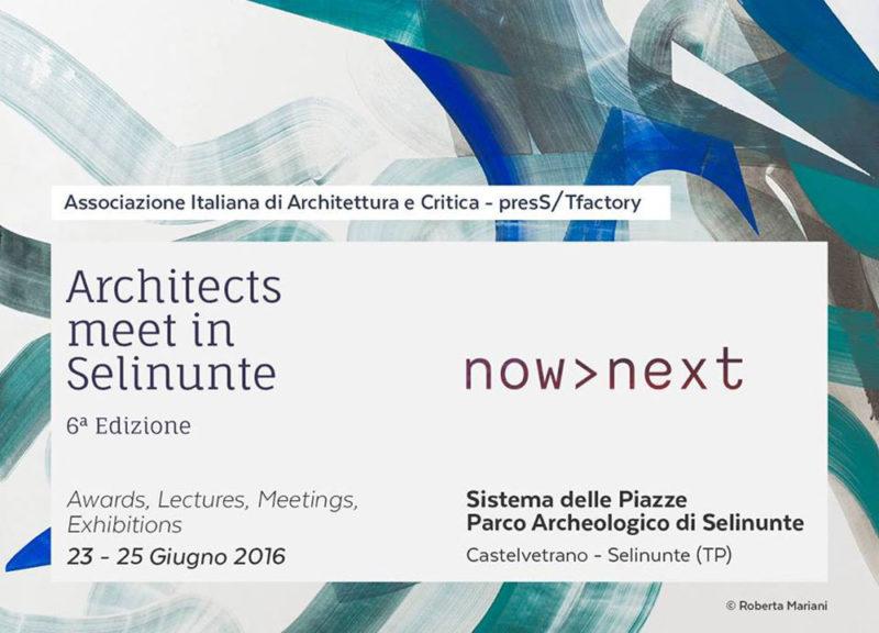 Architects meet in Selinunte