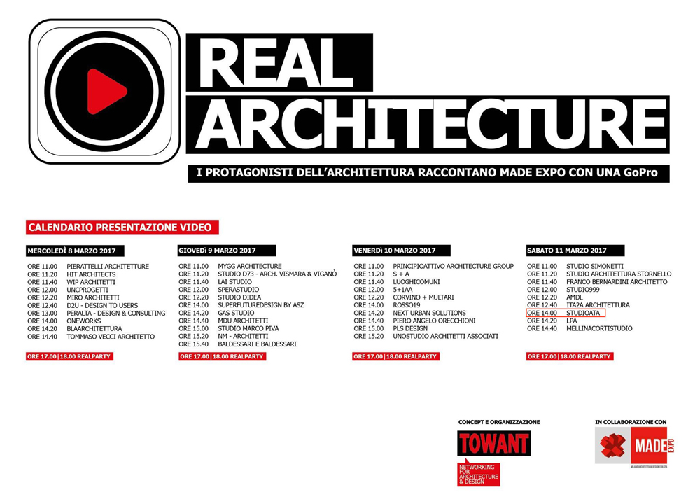 REAL ARCHITECTURE – MADE EXPO