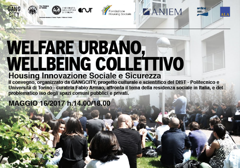 CONFERENZA WELFARE URBANO, WELLBEING COLLETTIVO