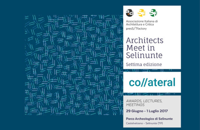 Architects meet in Selinunte co//ateral